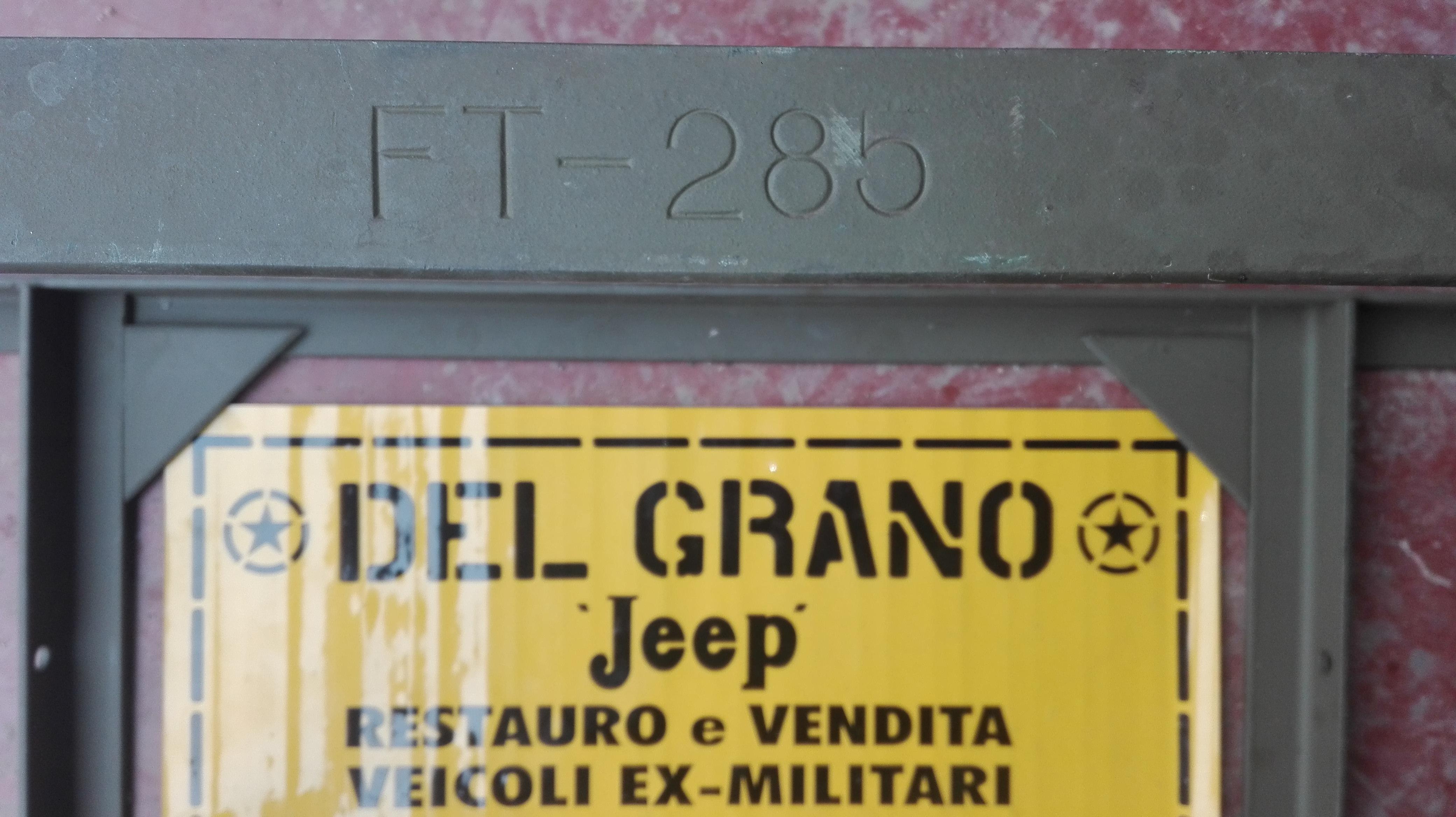 Vehicles' Spare parts For Sale – Del Grano Jeep
